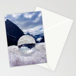 Ice Reflection Stationery Cards