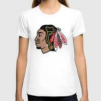 blackhawks T-shirts featuring Blackhawks Inspired D Rose by beejammerican