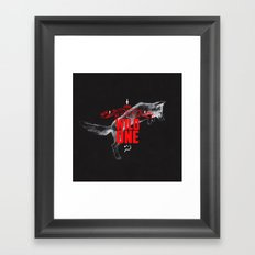 Wild One Framed Art Print