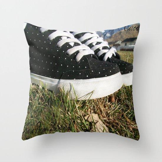 Circa Shoe Company Throw Pillow