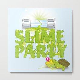 Slime Party Metal Print
