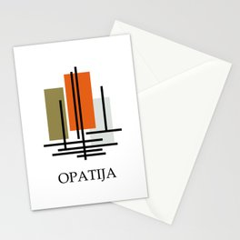 Glory to Yugoslavian design Stationery Cards