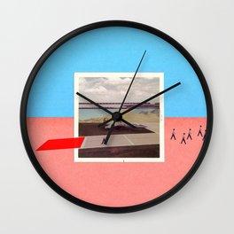 Third Pilot Wall Clock