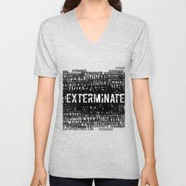 Exterminate 1 Unisex V-Neck