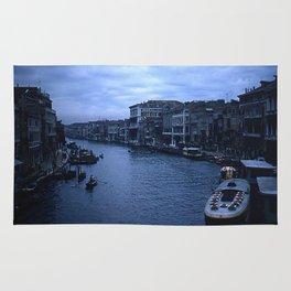 Vintage Color Photo * Kodachrome * 1950's * View from the Rialto Bridge * Venice Rug