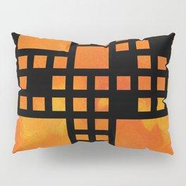 Visopolis V1 - orange flames Pillow Sham
