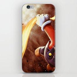 The Escape of Super Mario iPhone Skin