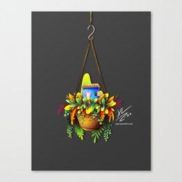 Plantarse y crecer Canvas Print