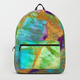 Summer Light Abstract Backpack