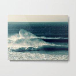 Offshore Waves Metal Print