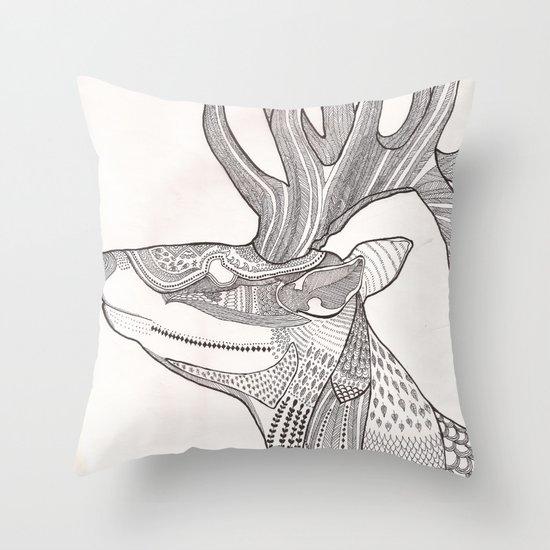 The Forest Spirit Throw Pillow