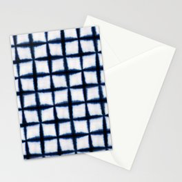 Shibori Squares Stationery Cards