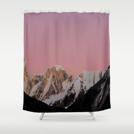 Sunset Peak Shower Curtain