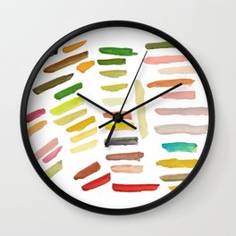 Color Test Wall Clock