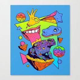 Licker Canvas Print