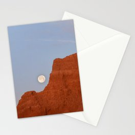 Full Moon Setting Stationery Cards