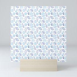 Seashell Pattern Mini Art Print