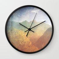 montana Wall Clocks featuring Montana by Tosha Lobsinger is my Photographer