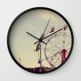Cotton Candy Daydreams Wall Clock