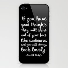 Sunbeams iPhone & iPod Skin