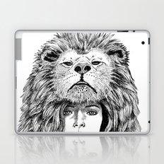 Lion Lady Laptop & iPad Skin
