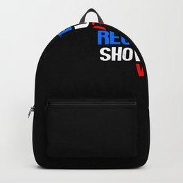 Register Show Up Vote Election Day Backpack