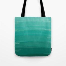 Sea Foam Dream Ombre Tote Bag