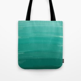 Sea Foam Dream Ombre Tote Bag