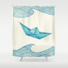 High Seas Shower Curtain