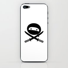 Pirate Ninja iPhone & iPod Skin