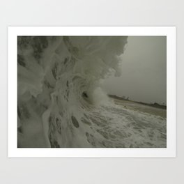 Froth Art Print