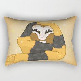 Cozy Barn Owl Rectangular Pillow