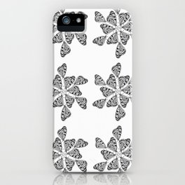 Butterfly Mandalas iPhone Case