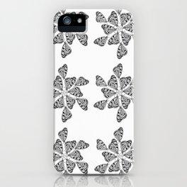 Butterfly Mandalas iPhone Case