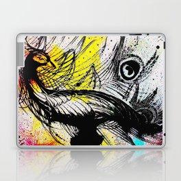 Peacock Graffiti Laptop & iPad Skin