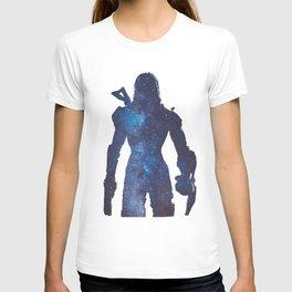 Mass effect - Space , Female Shepard  T-shirt