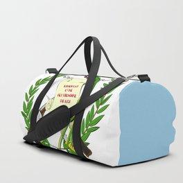 Guatemala flag emblem Duffle Bag