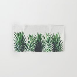 Pineapple Leaves Hand & Bath Towel