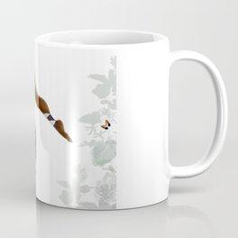 Purple Dancing Daisy Coffee Mug