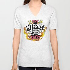 The Internet. Unisex V-Neck