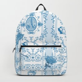 Marie-Antoinette Monogram (Aqua) Backpack