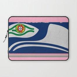 Portuguese Seahawks Hot Pink Laptop Sleeve
