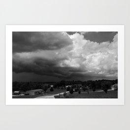 Dark Days: Approach Art Print