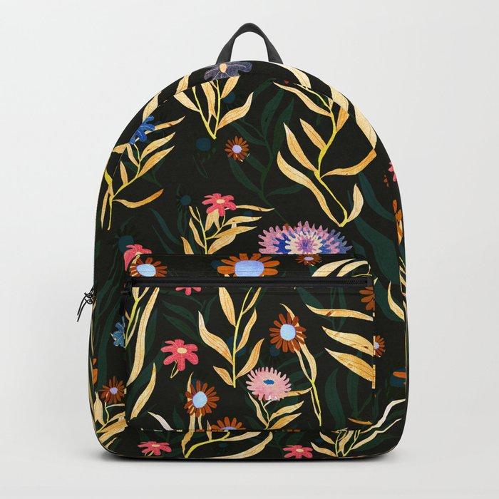 flowers garden Backpack