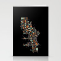 milwaukee Stationery Cards featuring Milwaukee by BigRedSharks