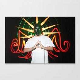 the light mask Canvas Print