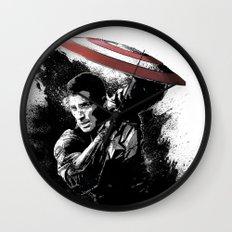 Steve Rogers: Shadow Edition Wall Clock