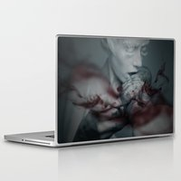 the cure Laptop & iPad Skins featuring Cure by Imustbedead