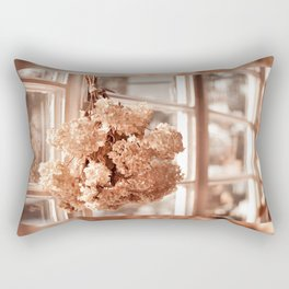 Tethered hydrangea or hortensia Rectangular Pillow
