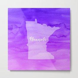 Sweet Home Minnesota Metal Print